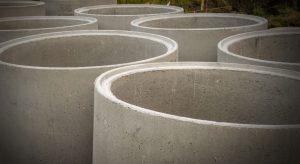 betonowe kręgi